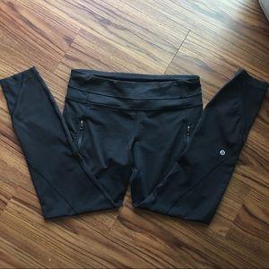 "LULULEMON 7/8 25"" inseam legging, size 8"